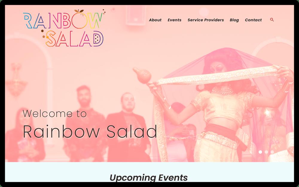 Rainbow Salad Homepage