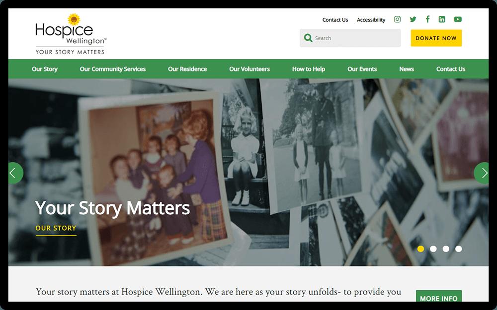 Hospice Wellington Homepage