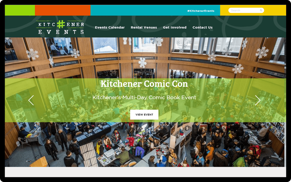 Kitchener Events Homepage
