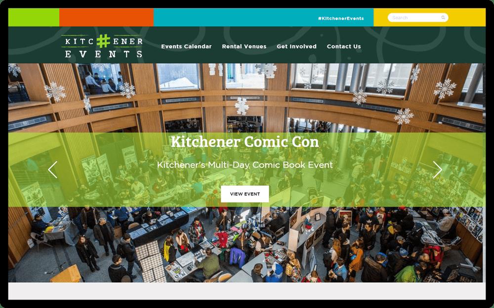 Kitchener Events Homepage