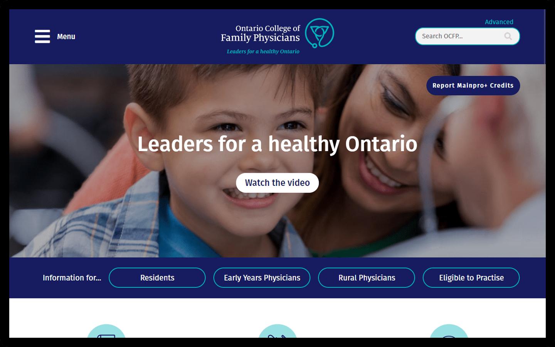 OCFP Homepage