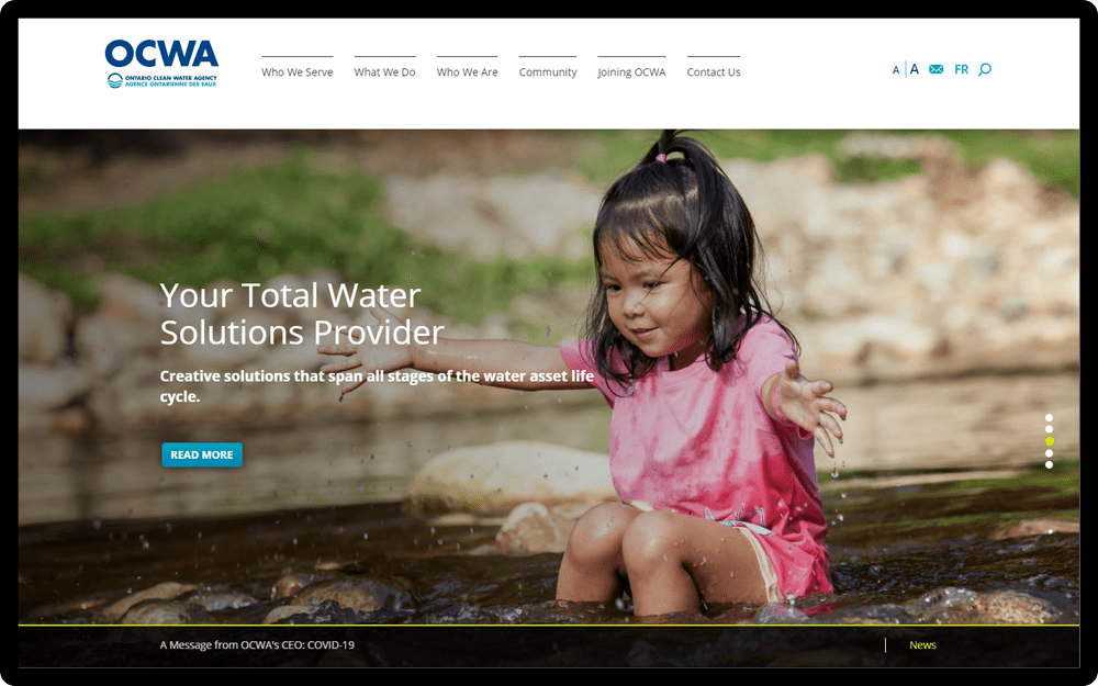 Ontario Clean Water Association Homepage