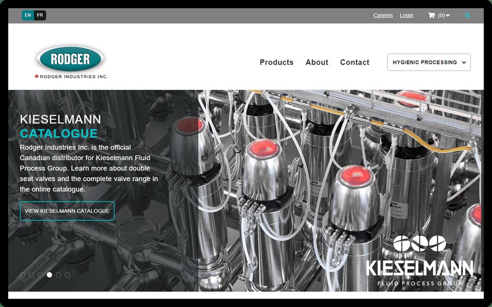Rodger Industries Website