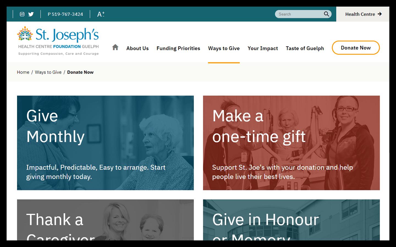 SJHCG Foundation Donation Page