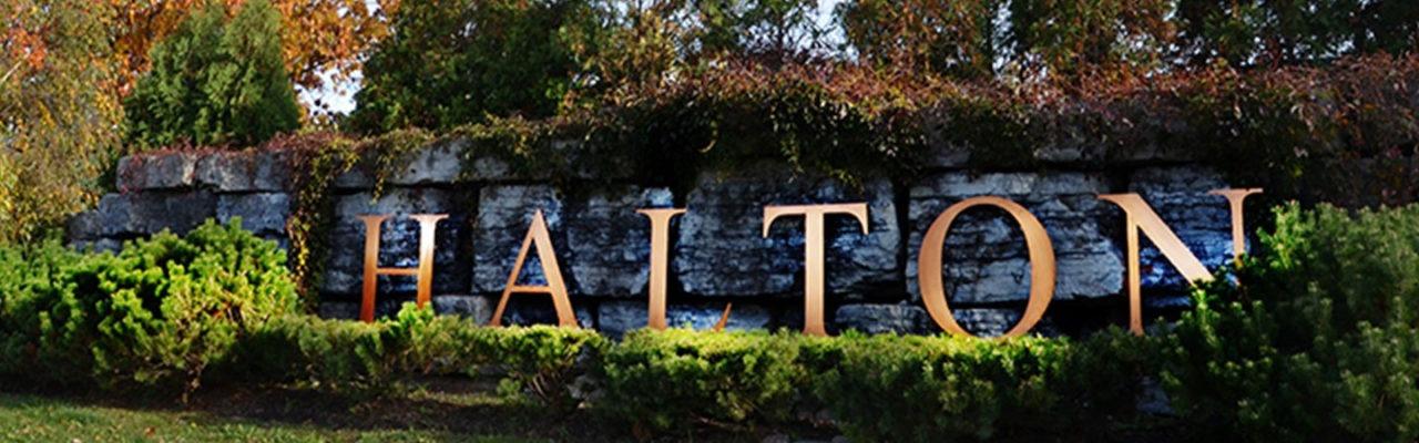 Halton Region Sign