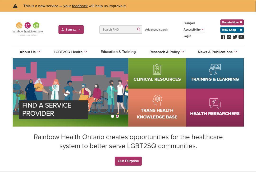 Rainbow Health Ontario