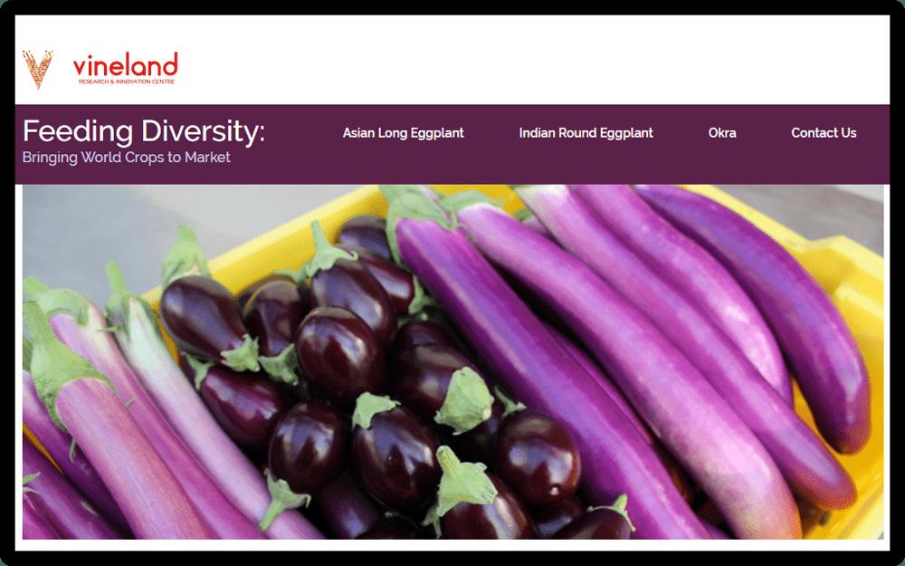 vineland feeding diversity