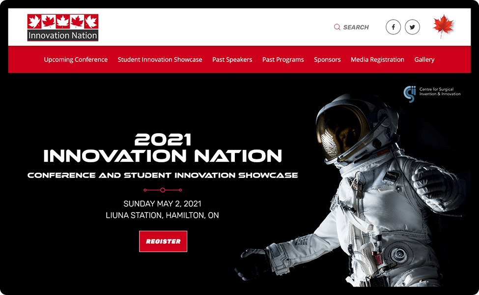 Innovation Nation homepage